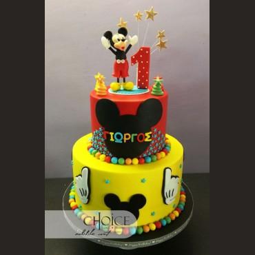 Τούρτα Mickey Mouse 2